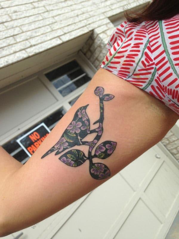 tattoos éan dubh