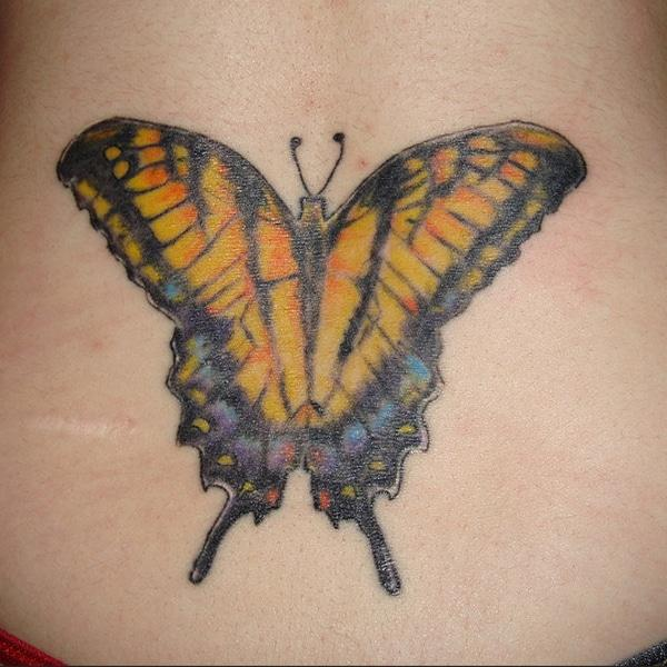 disenyo ng butterfly tattoo