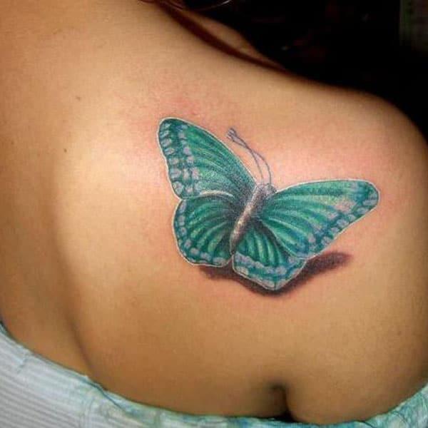 fluturi înapoi tatuaje