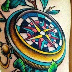 najbolje-kompas-tetovaža-09