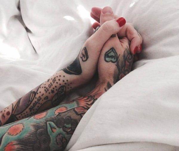 pár tetovanie