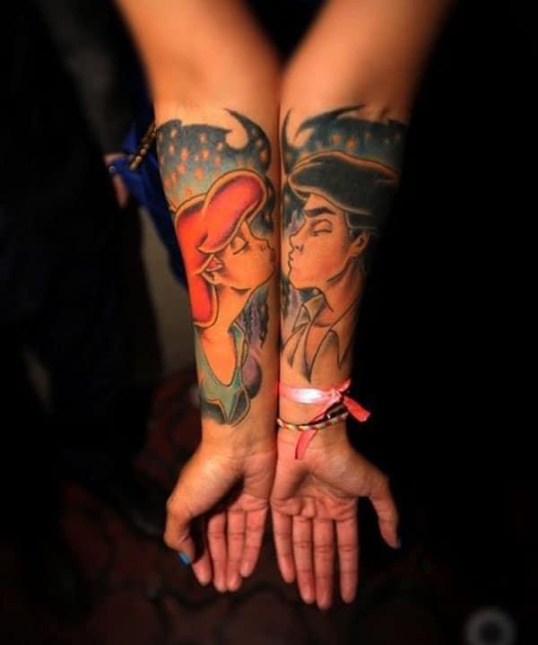par de ideas de tatuaxe