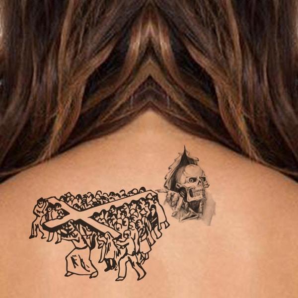 tatuaxes cruzados