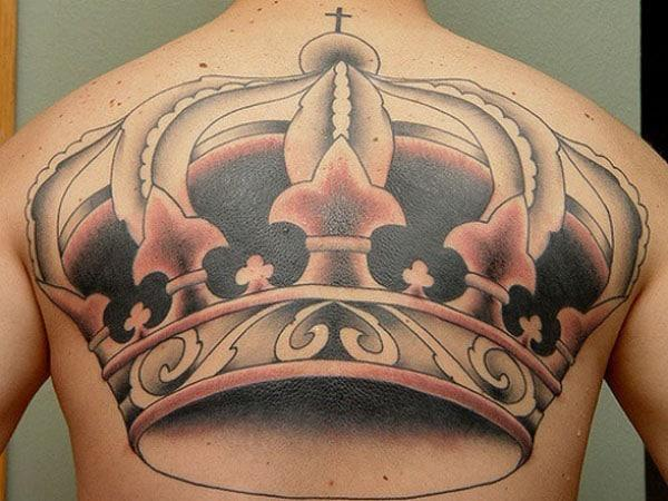 queen crown tattoo