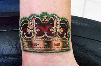 Tattoo Crown no dikany