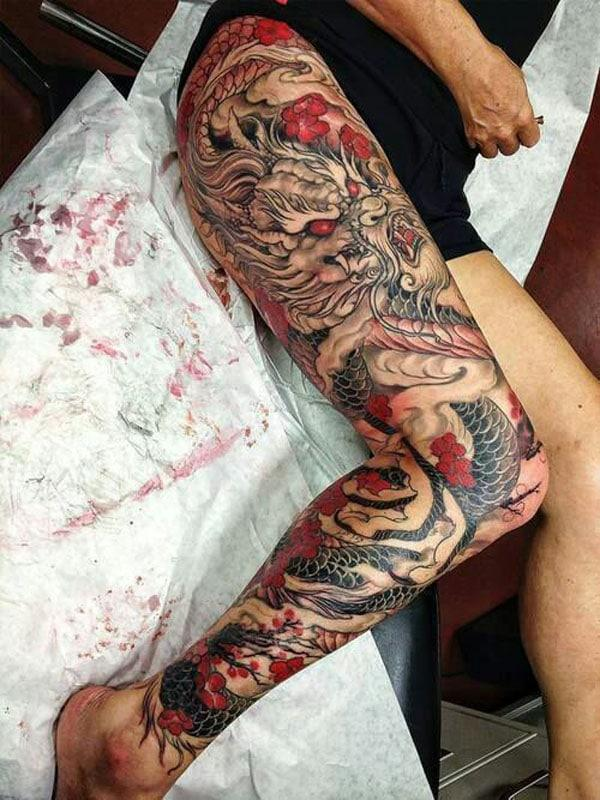 tattoo dragon dragon dragon
