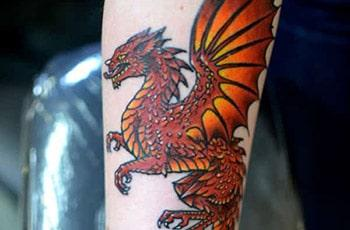 Draoidh Dragon Tattoo