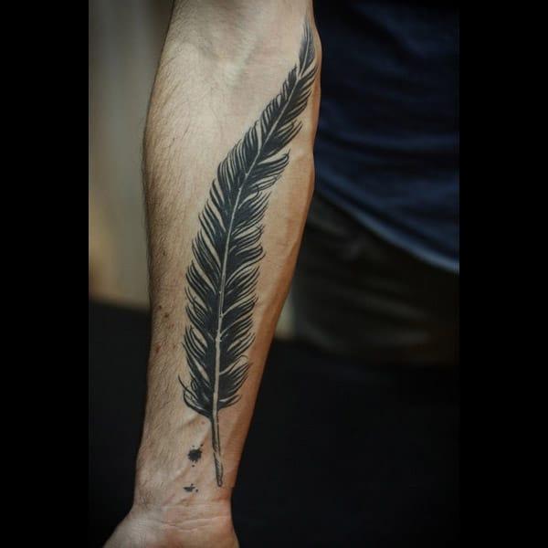 Feder Tattoo Ideen