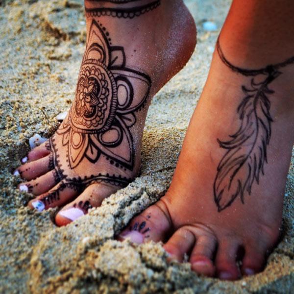 sulgedest tätoveering jalgsi