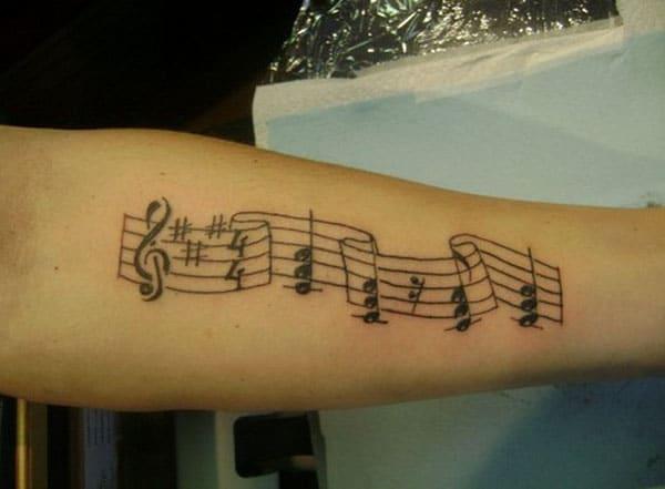 glazbene tetovaže