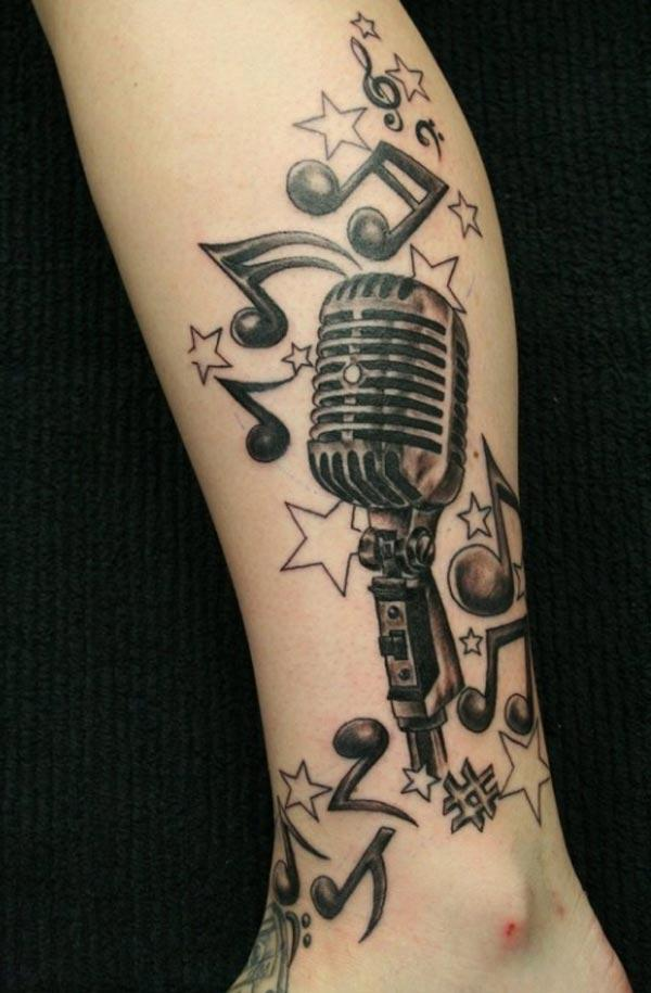 amazing music tattoos