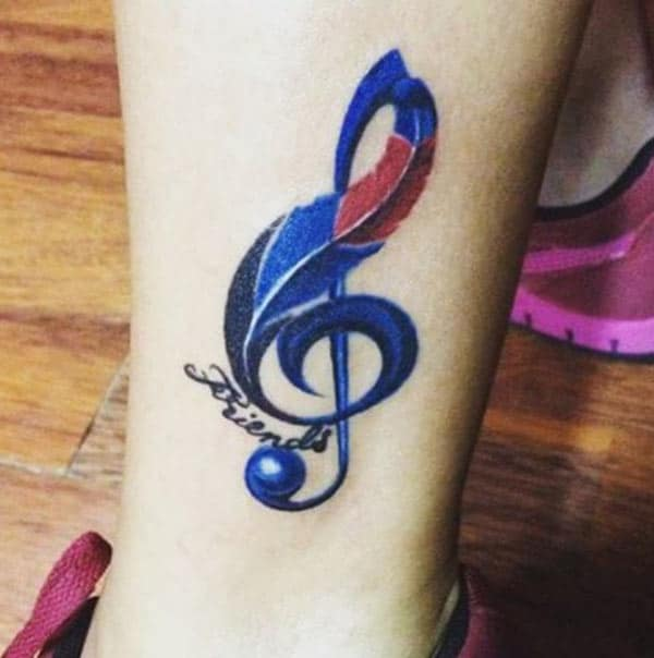 tattoos ceoil fionnuar