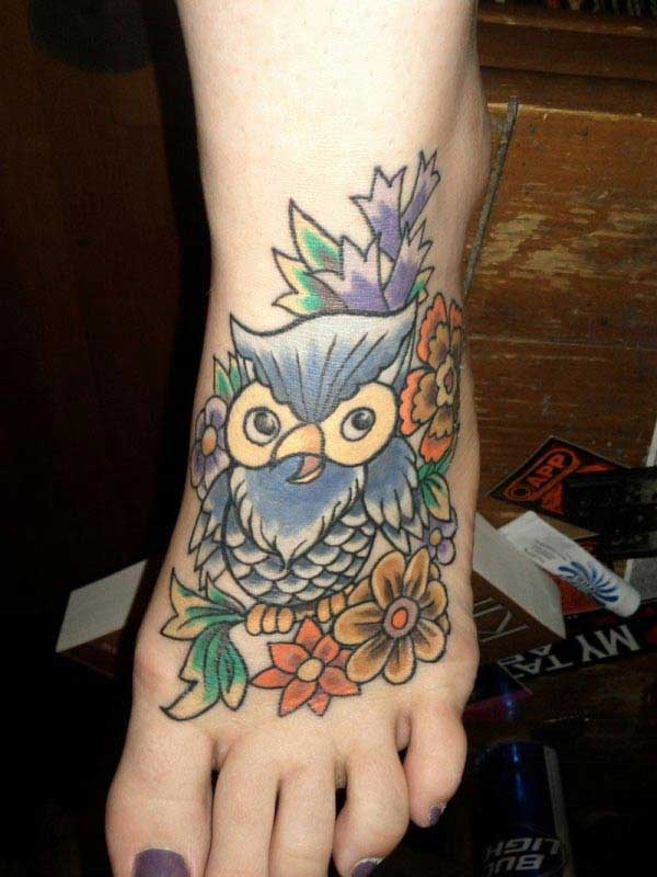 pictures of owl tattoos
