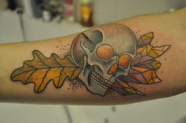 awesome skull tatoveringer