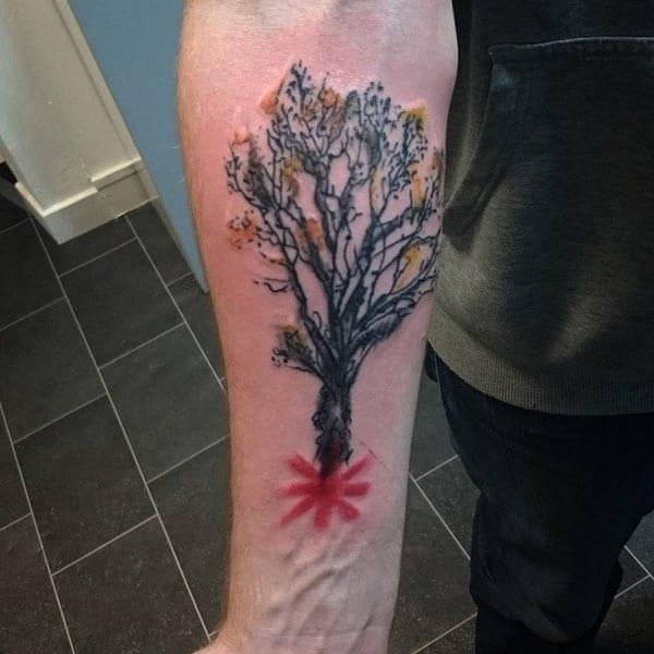 coole Baum Tattoos