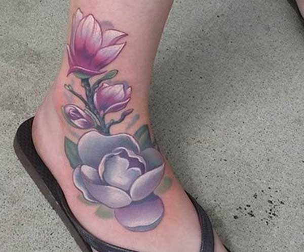 ankle tattoo pic