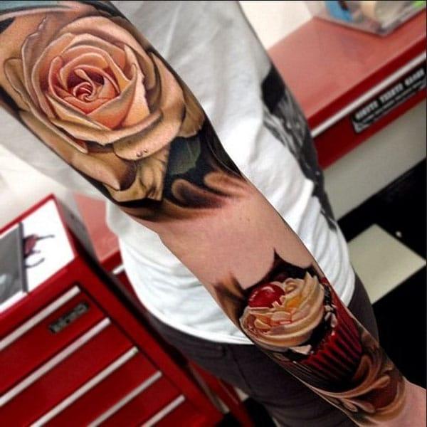 รอยสักแขนที่สวยงาม