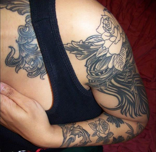 arm tattoos girls