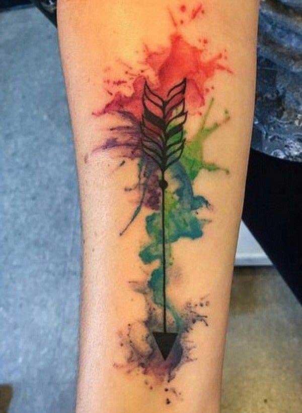 litrík arrow tattoo