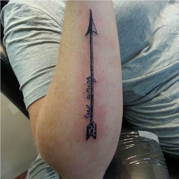 arrow tätoveering pic