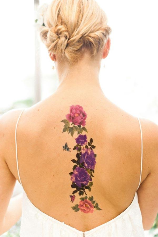 cute back tattoos