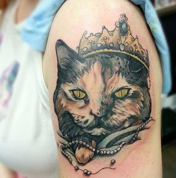 mata cat tattoos