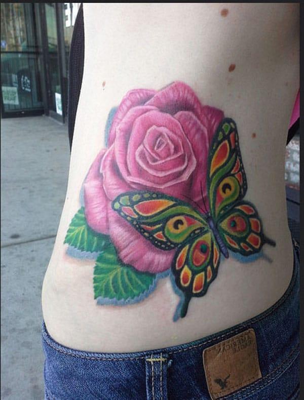 ntxim hlub tattoos rau cov ntxhais