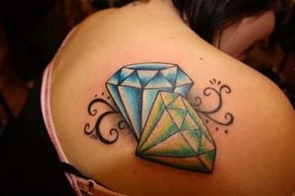best diamonds tattoos