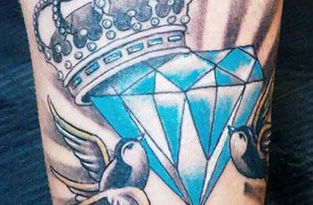 Diamond tattoo meaning