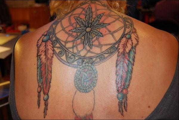 dreamcatcher tattoo design ideas