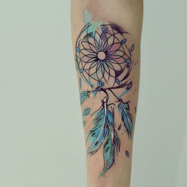 moaie dreamcatcher tattoos