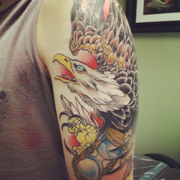 Adler fir Tattoo'en