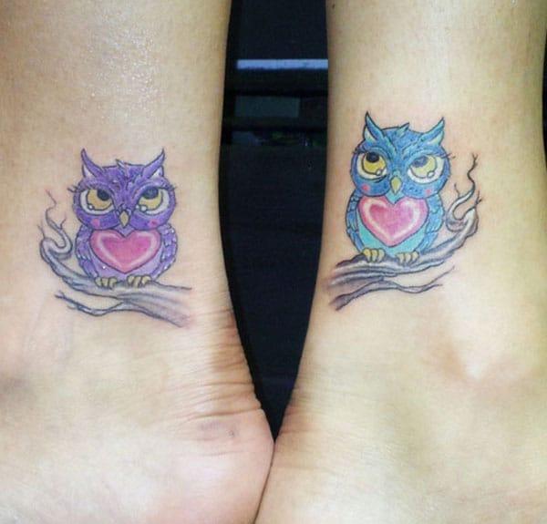 милые татуировки дружбы