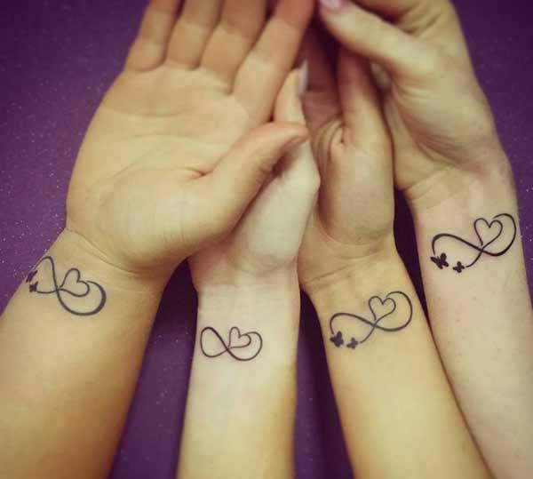 friendship tattoos pictures