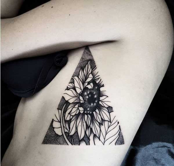 geometric tattoo art