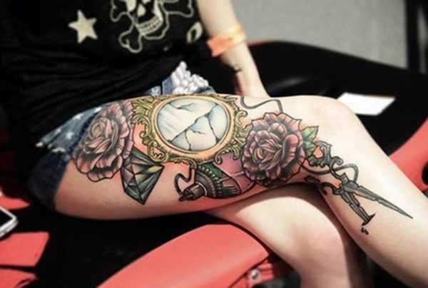 tattoo femur puella,
