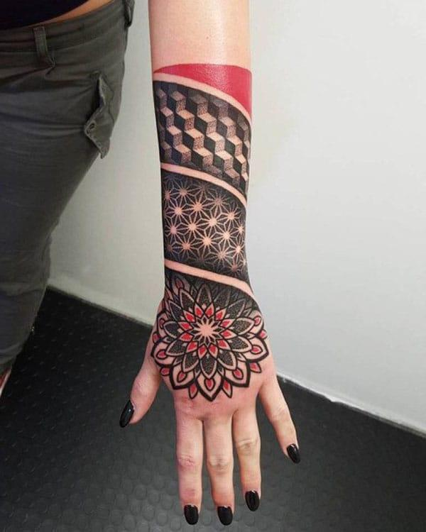 hånd tatoveringer design