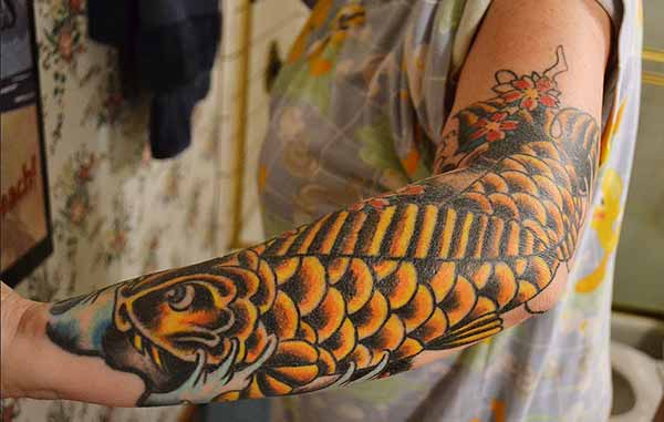 koi pisces tattoos pic