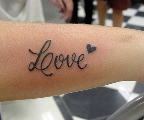 tatouages ​​d'amour lovely
