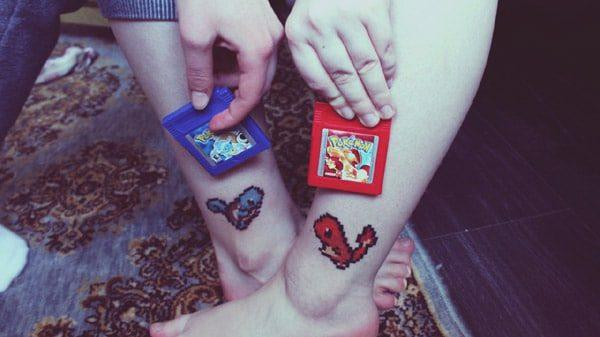 Pokemon tattos For Bestfriends