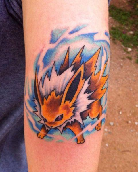 Beautiful Pokemon tattoes