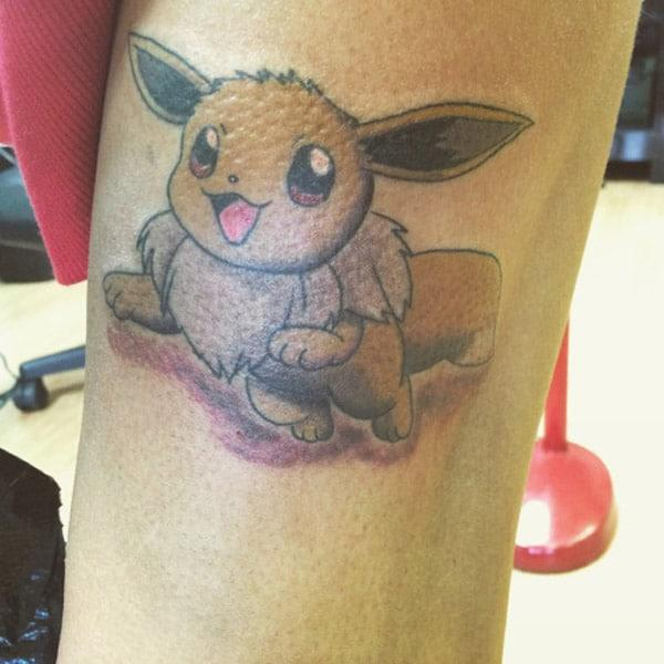 Happy Pokemon Tatto