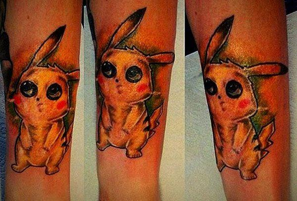 Pokemon tattooes for ladies