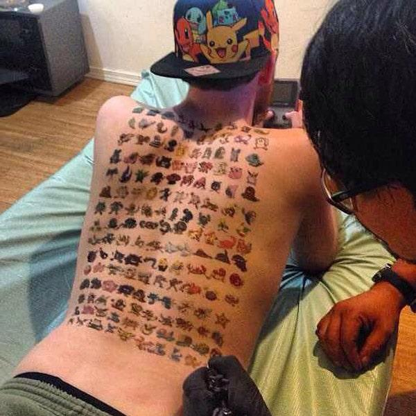 Great Collection of Pokemon tattooa