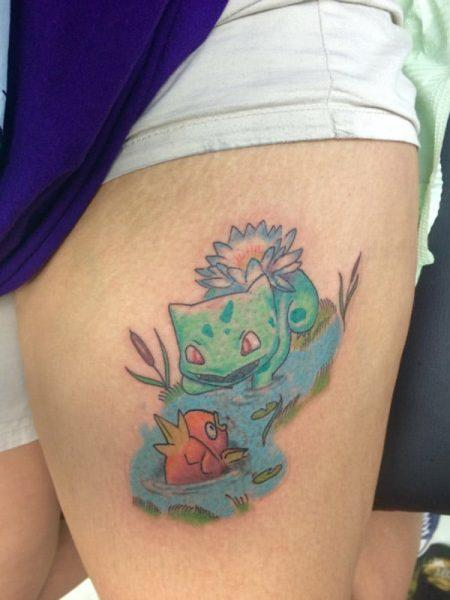 Papa Pokemon tatto