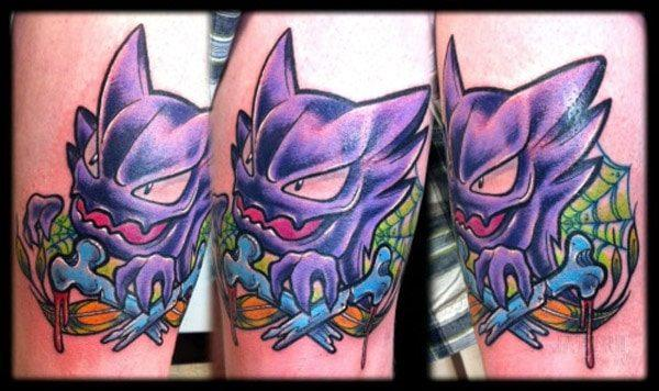 Pokemon Pokemon Tattoo