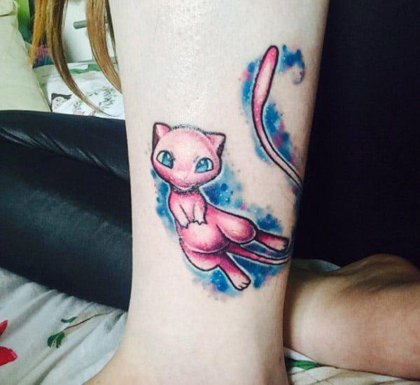 Dancing Pokemon tattoes