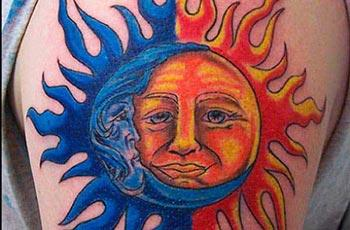 Sun tattoo meaning