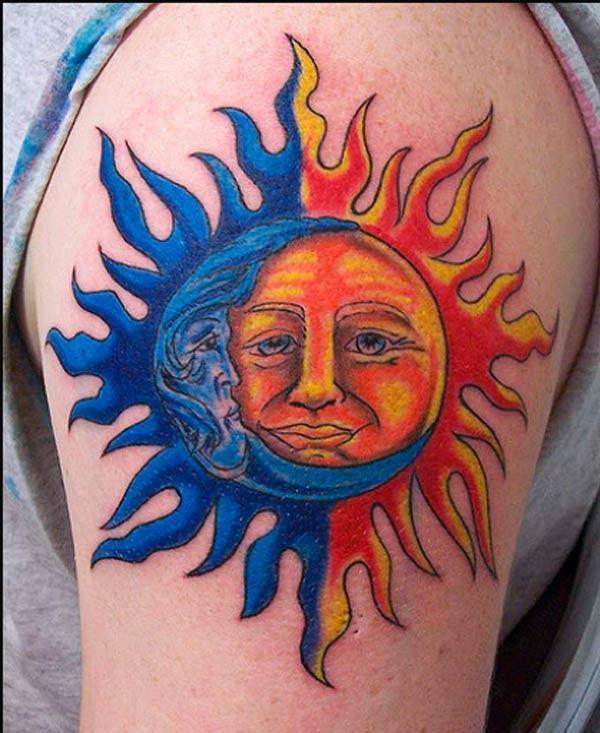 શ્રેષ્ઠ સૂર્ય ટેટૂઝ