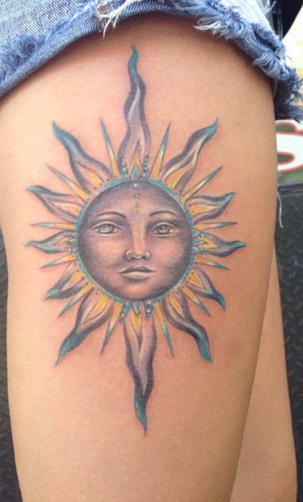 tattoos tax-xemx tal-koxxa